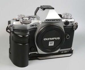 Boxed-Olympus-OM-D-E-M5-Mark-II-Mirrorless-Digital-Camera-Body-Camera-Grip