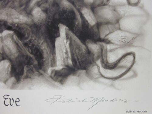 Eve Signed  Lithograph Patrick Meadows