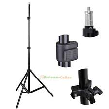 2M Studio Photograp Light Flash Speedlight Umbrella Stand Holder Bracket Tripod