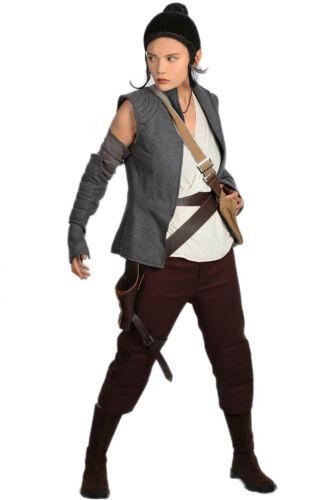 Rey Adult Costume The Force Awakens VII 7 Last Jedi VIII 8 Star Wars Cosplay