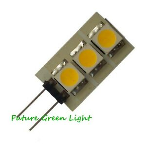 g4 3 smd led 12v ac dc wei warmes wei rot blau birnen 5w ebay. Black Bedroom Furniture Sets. Home Design Ideas