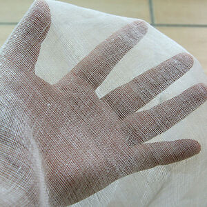 GAUZE-CHEESE-CLOTH-CHEESECLOTH-BUTTER-MUSLIN-WHITE-HALLOWEEN-COSTUMES-36-WIDE