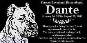 Personalized-Cane-Corso-Italian-Mastiff-Dog-Pet-Memorial-12x6-Granite-Headstone