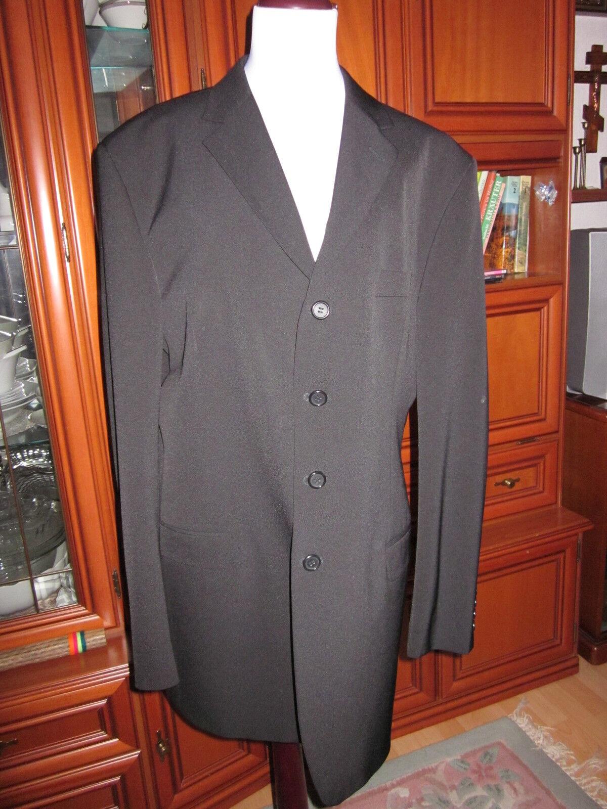 REVIEW SAMPLER Herren Sakko Blazer Anzug Mantel Bussines Schwarz  Gr.106