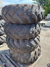 Pair Of 2 169x24 Loader Backhoe Tires Jcb Wheels