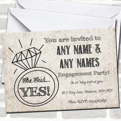 Damas Chic Fête Invitations