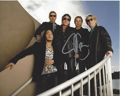 Music Jonathan Cain Journey Guitarist Hand Signed Authentic 8x10 Photo 1 W/coa Proof