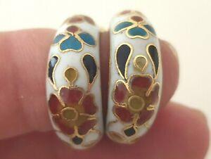 Beautiful-Vintage-Cloisonne-Earrings-Flowers-Hand-Made-02