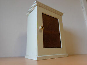 antik vitrine alt h ngevitrine shabby chic medizinschrank sammlervitrine l3 804 ebay. Black Bedroom Furniture Sets. Home Design Ideas
