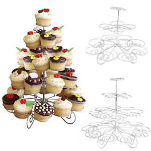 5 Tier Metal Cupcake Stand Party Display Muffin Holder Wedding Table Decoration