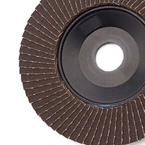 "10Pcs 4/""Flap Disc 240 Grit Grinding Wheel Angle Grinder Polishing 13000RPM Kit"