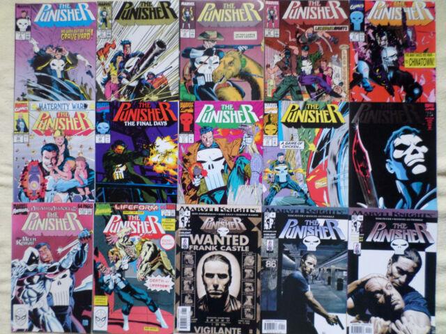 Punisher comics............lot of 30