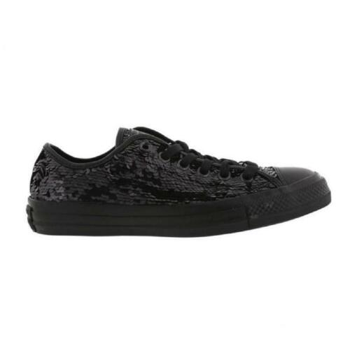 Zapatillas Holiday de mujer Party para Black Converse 556483c Low Ox Ctax deporte rrXxTg