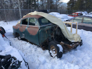 1953 Belair 4 door complete (can sell without tire)