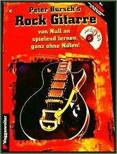 Peter Bursch Rock Gitarre spielen A-Z Arbeitsbuch + Cd ZZ Top Zeppelin Van Halen