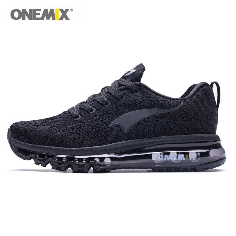 ONEMIX 2019 Hombres Running Zapatos Zapatillas de mujer de luz suave de malla transpirable