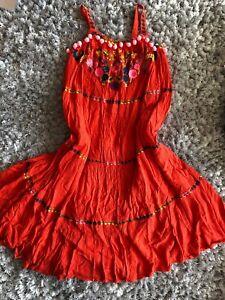 Next Robe Longue 8 Ans Bnwt-afficher Le Titre D'origine