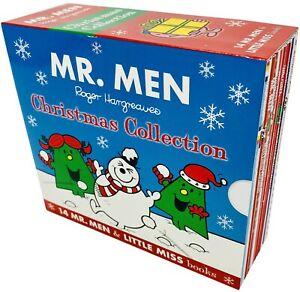 Mr-Men-amp-Little-Miss-Christmas-Celebrations-Series-14-Books-Collection-Set
