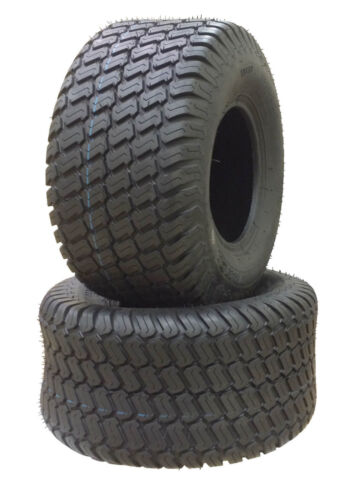 2 (TWO) 18x6.50-8 18x6.50x8  Air Loc Riding Lawn Mower Tractor Turf Tires 4ply