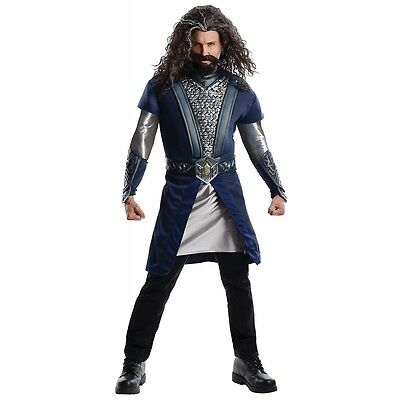 Deluxe Thorin Costume The Hobbit Halloween Fancy Dress