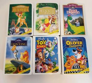 Walt-Disney-Masterpiece-Collection-McDonalds-Happy-Meal-Toy-Lot-of-6