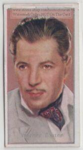 Warner-Baxter-American-Movie-Star-Film-Actor-80-Y-O-Trade-Ad-Card