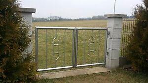 Attractive Das Bild Wird Geladen Gartentor Edelstahl  Pforte Zaun Eingangstor Masse Nach Wunsch Awesome Ideas