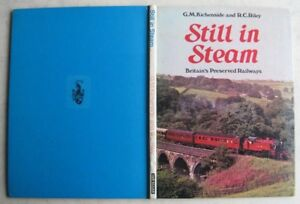 Still-in-Steam-G-M-Kichenside-1969-H-B-1st-Ed-039-used-Pub-039-Ian-Allan-Good-cond-039
