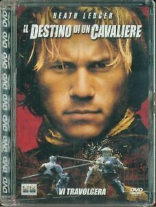 Il-Destino-Di-Un-Cavaliere-Heath-Ledger-Super-Jewel-Box-Dvd-Sigillato