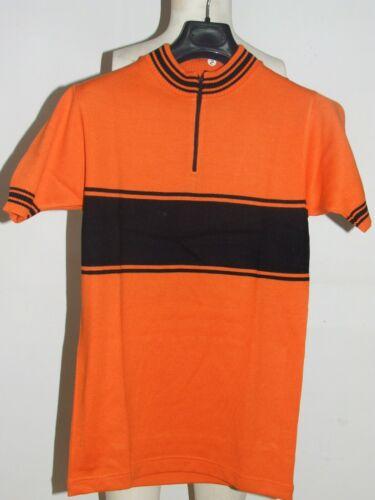 Yonne Cycling Heroic Vintage 70/'s maruz Acrylic Bike Jersey Shirt Maillot