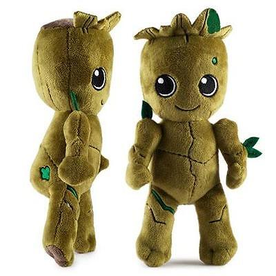 """GotG Guardians Of The Galaxy 2 Licensed 9"""" Baby GROOT Plush Toy Phunny Kidrobot"""