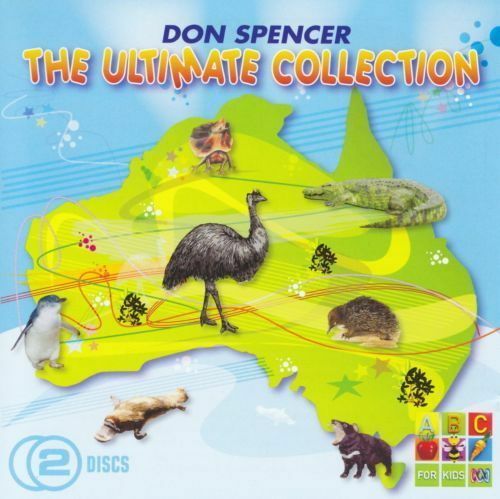 DON SPENCER The Ultimate Collection 2CD BRAND NEW ABC For Kids
