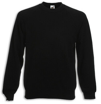 FRUIT OF THE LOOM SWEATSHIRT PULLOVER M L XL XXL SCHWERE QUALITÄT280g/m² SHIRTS