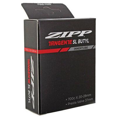 Zipp Tangente SL Butyl Road Bike Tube 700 x 20-28mm,37mm Aluminum Presta Valve