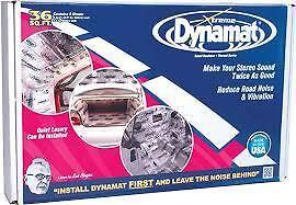 "DYNAMAT XTREME BULK PACK 9 X 18/"" X 32/"" SHEETS 36SQFT SOUND DEADENING"