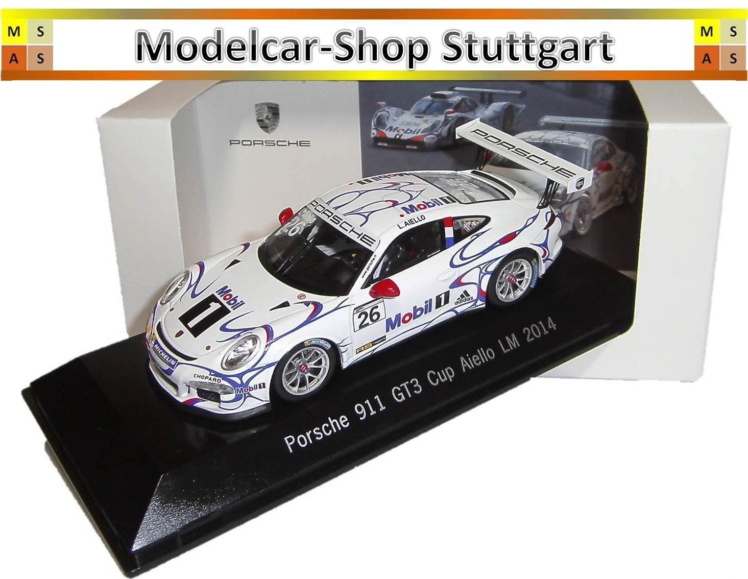 Porsche 911 GT3 Cup Aiello Le Mans 2014 - Spark 1 43 - map02099214 - NEW