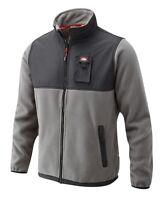 Mens Lee Cooper Fleece Jacket Warm Zip Pockets Training Work Sweatshirt Lc405