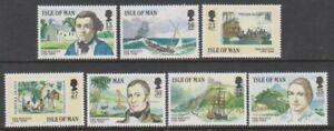 Isle-von-Mann-1989-Meuterei-auf-die-Bounty-Inkl-23p-amp-27p-Set-MNH-Sg