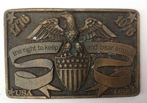 Vintage-Belt-Buckle-Style-Plaque-Display-Vintage-American-Retro-Classic
