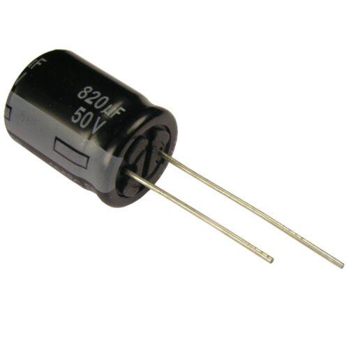 Elko Panasonic FR 820uF 50V Kondensator 105°C Low ESR same as FM 854452