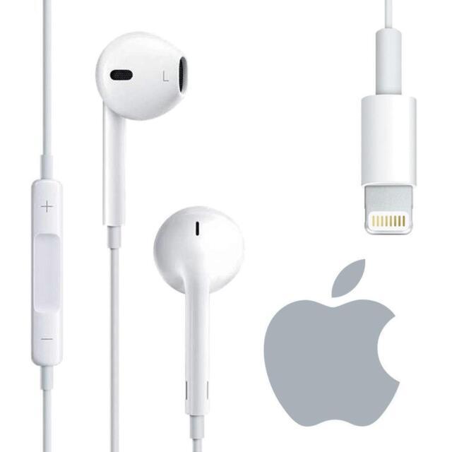 Cuffie Auricolari Lightning EarPods Originali MMTN2AM A Per Apple iPhone 8  Plus 57343734ef86