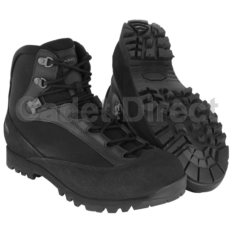 Black AKU Pilgrim GTX FG Combat Boot