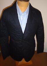 Polo Ralph Lauren Wool Blend Navy Blazer Style Quilted Jacket ... : ralph lauren quilted blazer - Adamdwight.com