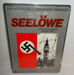 SPI-FLAT-BOX-WW2-What-If-Seelowe-German-Invasion-of-Britain-1940-Punch-Complete
