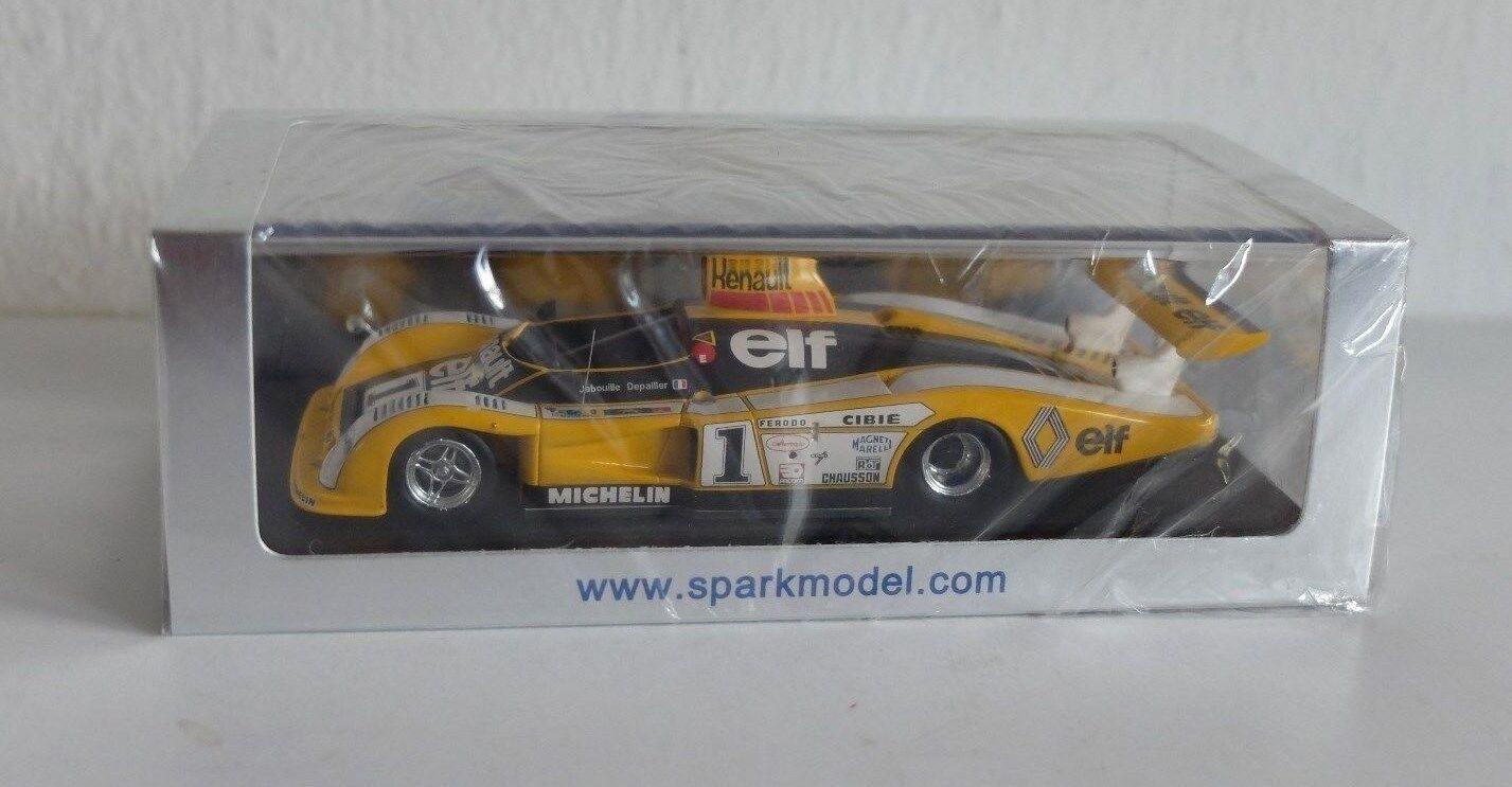Spark 1 43 - Renault Alpine A 443   1,  LM 1978,  P.Depailler  J.P Jabouille
