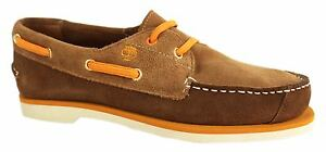 Timberland-peakisl-2I-Junior-Cubierta-Ante-Marron-Zapatos-82906-D29