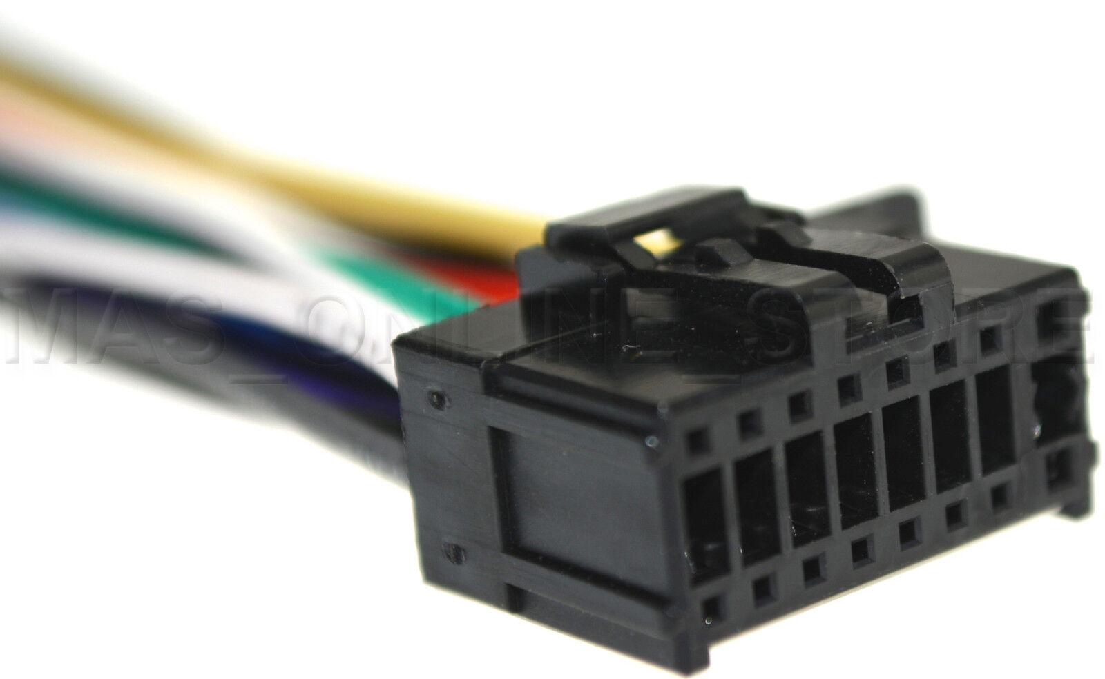 WIRE HARNESS FOR PIONEER DEH-X8500BH DEHX8500BH DEH-X8600BH DEHX8600BH