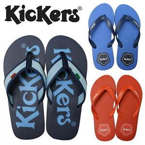 quality design da480 fffd8 Details zu Kickers Unisex Summer Flip Flops Men's Women's Beach Garden  Shoes SALE