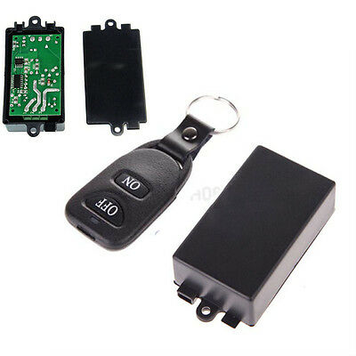 wireless DC 12v 10A relay RF Remote Control Switch Transmitter Receiver 1 CH