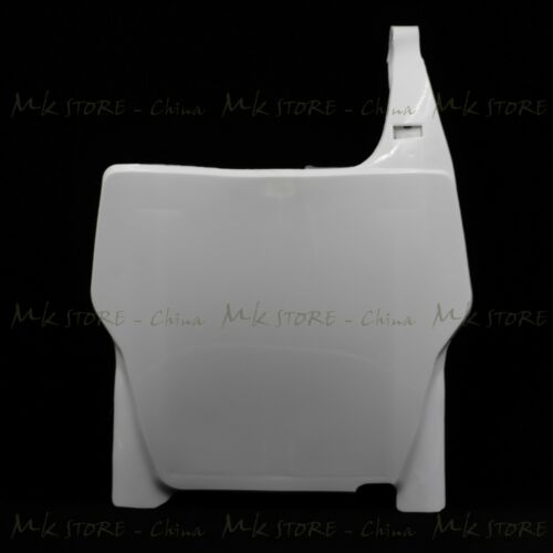 Front Number Plate White For Honda CRF 250//450R 04-07 CR125//250 04-07